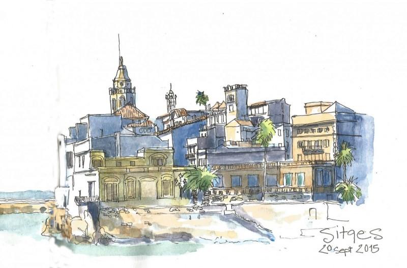 Sketch-barcelona Sitges