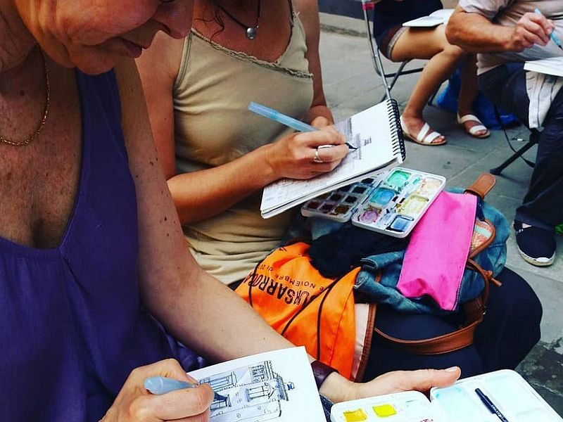 Sketching-de-viaje-Paris