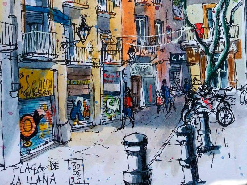 Taller de Sketching en Barcelona