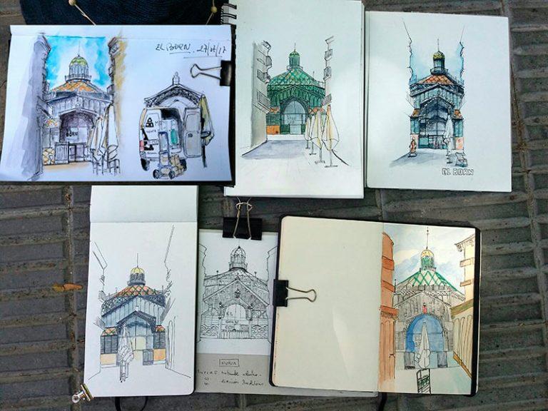 dessins d élèves barcelone