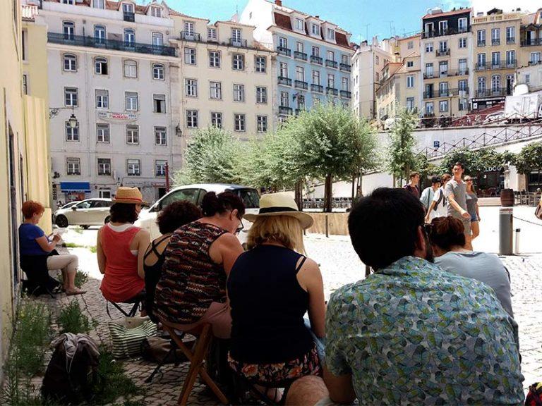 Lisbonne stage carnet de voyage