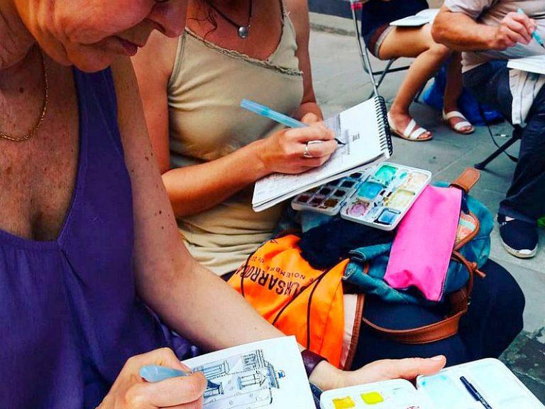 Urban-sketching barcelona