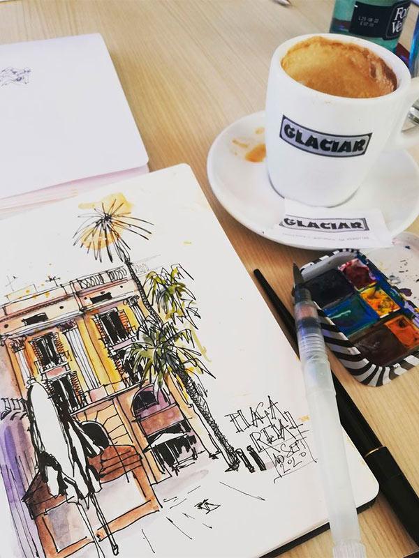 cuaderno de viaje barcelona