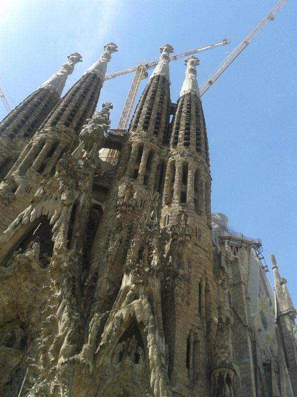 Stage Carnet de voyage Barcelone-Sagrada Familia